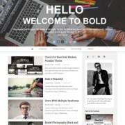 Bold Parallax Blogger Templates