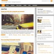 BrickYard Blogger Templates