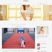Calmer Fashion Blogger Templates