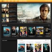 Cinema Movie Blogger Templates