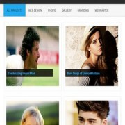 Creative Gallery Blogger Templates