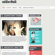 Downtown Blogger Templates