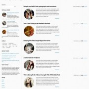 Focused Blogger Templates