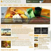 Foodness Blogger Templates