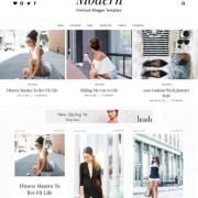 Gride Modern Blogger Templates