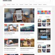 Invert Grid Blogger Templates