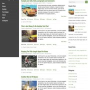 LiveRide Blogger Templates