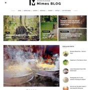 Mimes Blogger Templates