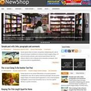 NewShop Blogger Templates