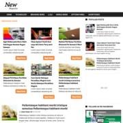 News Magazine Blogger Templates