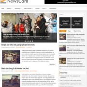 NewsCom Blogger Templates