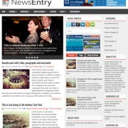NewsEntry Blogger Templates