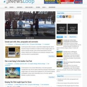 NewsLoop Blogger Templates