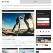 Omeo Responsive Blogger Templates
