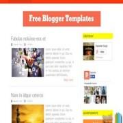 Orange Fever Blogger Templates