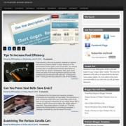 Pure Magazine V1 Blogger Templates