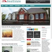 RealEstate Blogger Templates