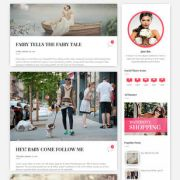 Scoop Fashion Blogger Templates