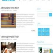 SeaWater Blogger Templates