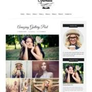 Splendid Dark Blogger Templates