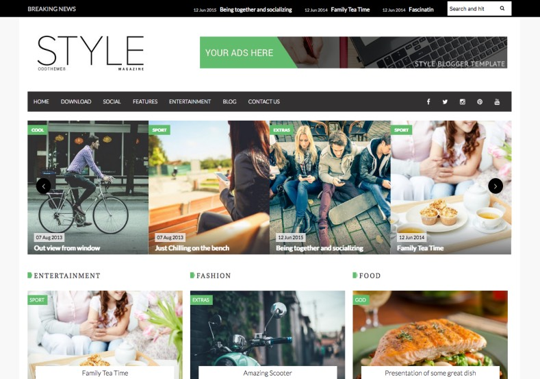 Style Magazine Blogger Template. Blogger Themes. Free Blogspot templates for your blogger blog. Best suitable for news blog templates. Best Ads ready blogspot templates help for add adsense ad code and easily showing adsence ads in your blog. Adapted from WordPress templates are converted from WordPress themes. It is help for take your rich. Blogger magazine template specially designed for magazine blogs. The writers can utilize this themes for take blog attractive to users. Elegant themes are more used themes in most of the blogs. Use minimalist blog templates for rich look for your blog. Free premium blogger themes means, themes authors release two types of themes. One is premium another one is free. Premium templates given for cost but free themes given for no cost. You no need pay From California, USA. $10 USD, or $20 USD and more. But premium buyers get more facilities from authors But free buyers. If you run game or other animation oriented blogs, and you can try with Anime blog templates. Today the world is fashion world. So girls involve to the criteria for make their life fashionable. So we provide fashion blogger themes for make your fashionable. News is most important concept of the world. Download news blogger templates for publishing online news. You can make your blog as online shopping store. Get Online shopping store blogger template to sell your product. Navigation is most important to users find correct place. Download drop down menu, page navigation menu, breadcrumb navigation menu and vertical dropdown menu blogspot themes for free. Google Guide to blogging tips and tricks for bloggers. Google bloggers can get blogspot trick and tips for bloggers. Blog templates portfolio professional blogspot themes, You can store your life moments with your blogs with personal pages templates. Video and movie blogs owners get amazing movie blog themes for their blogs. Business templates download. We publish blogger themes for photographers. Photographers easily