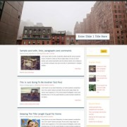 Superhero Responsive Blogger Templates