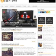 TechTown Blogger Templates