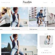 Travelista Tour Blogger Templates