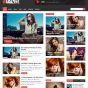 Wagazine Blogger Templates