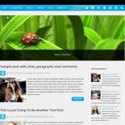 Webfolio Blogger Templates