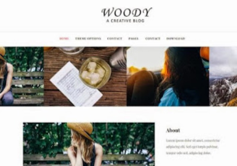 Woody Responsive Blogger Template. Blogger Themes. Free Blogspot templates for your blogger blog. Best suitable for news blog templates. Best Ads ready blogspot templates help for add adsense ad code and easily showing adsence ads in your blog. Adapted from WordPress templates are converted from WordPress themes. It is help for take your rich. Blogger magazine template specially designed for magazine blogs. The writers can utilize this themes for take blog attractive to users. Elegant themes are more used themes in most of the blogs. Use minimalist blog templates for rich look for your blog. Free premium blogger themes means, themes authors release two types of themes. One is premium another one is free. Premium templates given for cost but free themes given for no cost. You no need pay From California, USA. $10 USD, or $20 USD and more. But premium buyers get more facilities from authors But free buyers. If you run game or other animation oriented blogs, and you can try with Anime blog templates. Today the world is fashion world. So girls involve to the criteria for make their life fashionable. So we provide fashion blogger themes for make your fashionable. News is most important concept of the world. Download news blogger templates for publishing online news. You can make your blog as online shopping store. Get Online shopping store blogger template to sell your product. Navigation is most important to users find correct place. Download drop down menu, page navigation menu, breadcrumb navigation menu and vertical dropdown menu blogspot themes for free. Google Guide to blogging tips and tricks for bloggers. Google bloggers can get blogspot trick and tips for bloggers. Blog templates portfolio professional blogspot themes, You can store your life moments with your blogs with personal pages templates. Video and movie blogs owners get amazing movie blog themes for their blogs. Business templates download. We publish blogger themes for photographers. Photographers easi