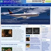 WorldTravel Blogger Templates