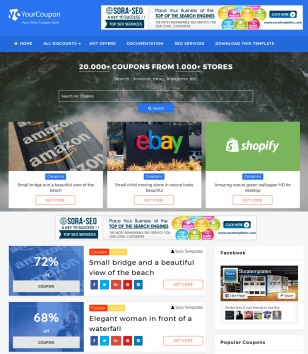 Your Coupon Blogger Templates