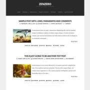 Zenzero Blogger Templates