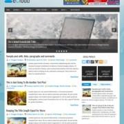 eCloud Blogger Templates