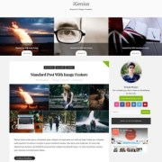 iGenius Blogger Templates