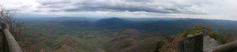 View atop Mt. Cammerer