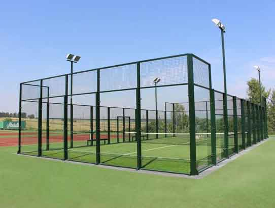 padel court construction