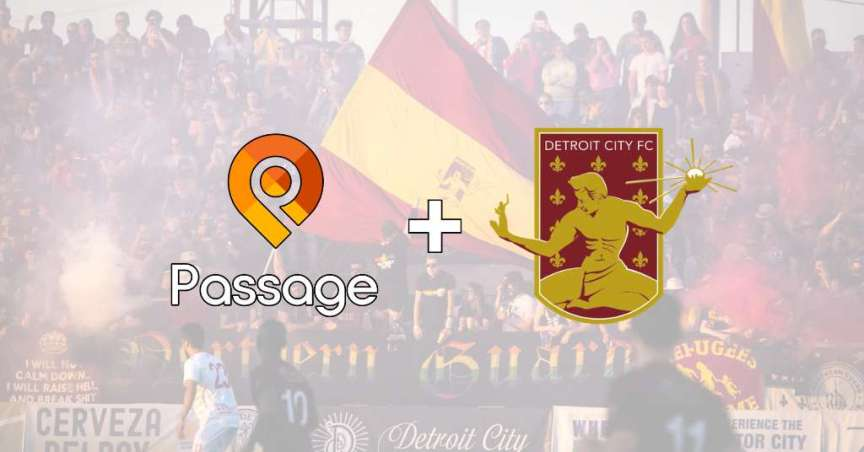 detroit city fc partnership with Passage