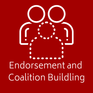 endorsement and coalition buildling