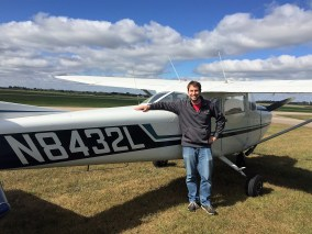 New Private Pilot Tim Silver