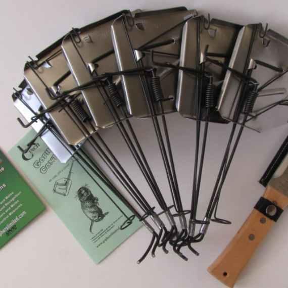 cinch gopher mole trap super starter kit
