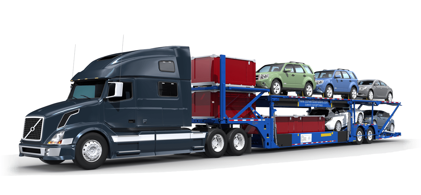 convertible mixed trailer