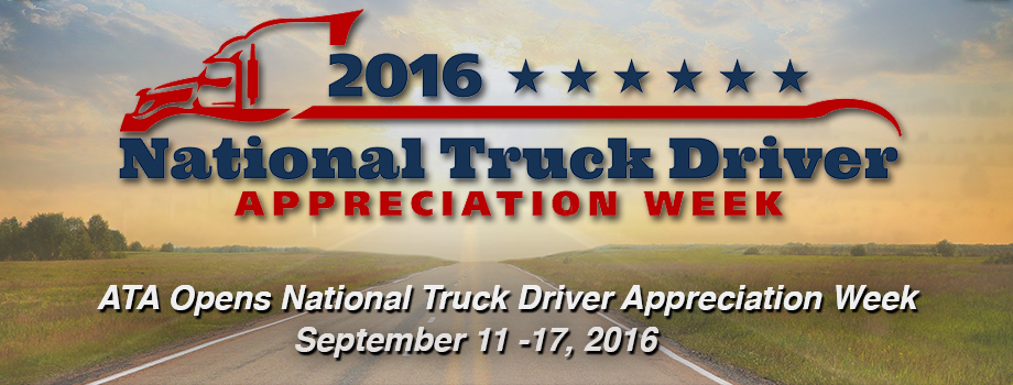 NTDAW 2016: Recognizing America's 3 5 Million Drivers