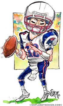 New England Shoff Illustrated Sports Illustration