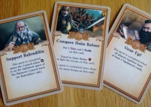 The Dwarves scenario cards