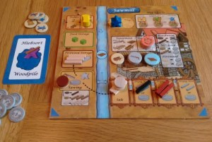 Lignum player board