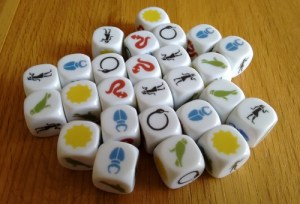 Ominoes dice