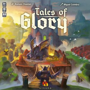 The Tales of Glory board game box artwork.