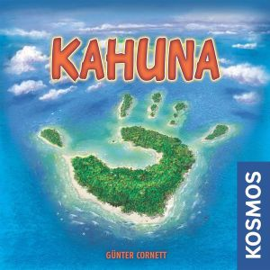 Kahuna board game box